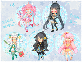 C: Custom and PokeMagica Adopts Batch #1 by Hacuubii