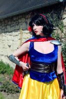 Snow White Warrior Cosplay  - 05 by bulleblue