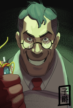 Medic Evil by Amely14128