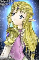 Twilight Princess .::Zelda::. by navi-the-cute-fairy