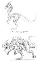 Random scaly things 01 by Baron-Engel