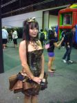 Steampunk lady by Nocturnal-Absence