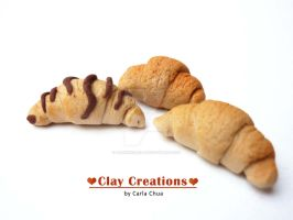 Three croissants by phoenixcarla
