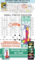 Meet Me at San Diego Comic Con 2012 by amegoddess
