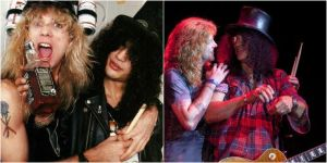 Slash and Steven Then and Now by MKMoon-Mew-GNRFan
