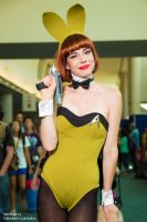 Star Trek Playboy Bunny Chloe Dykstra SDCC 2014 by wbmstr