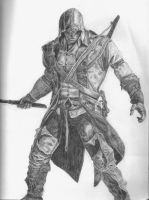 Connor Kenway by The-Shadow-artist