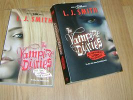 My Vampire Diaries Books by princesslillymono