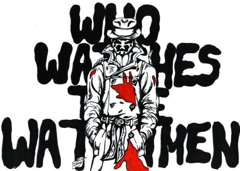 Who Watches The Watchmen? by GeekUSA