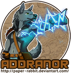 Commission - Addranor Badge by Paper-Rabbit