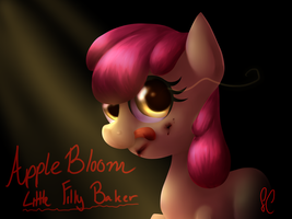 Little Filly Baker by SparkingComet