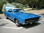 1968 Dodge Charger R/T Blues by RoadTripDog