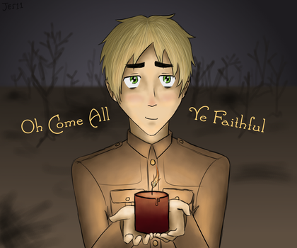 England - Oh Come, All Ye Faithful by InvaderJes11