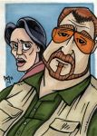 Big Lebowski:Walter and Donnie by AtlantaJones