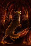 Wolf of the Flames by LarkoftheRiver