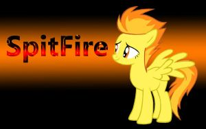 Spitfire Wallpaper by k14yp920501