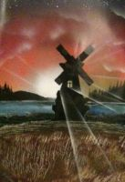 Windmill Photopaper by RiensArtwork