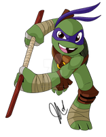 Color01 Donatello by Inked-Alpha