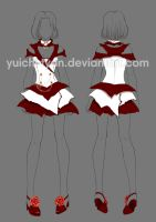 Adopt Auction Outfit Rose (CLOSED) by YuiChi-tyan