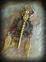 Golden Dynasty Fantasy Key by ArtByStarlaMoore