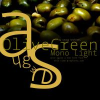 Font OliveGreen by spicone