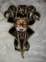 Venetian Mask I by Jezhawk-stock