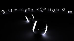 BlackWhite Balls by Creative-Activity