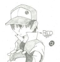 PKMN Trainer Red by PATUX3T