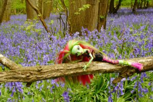 Venus in the Bluebells by astrogoth13