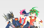 M.P. Shenanigans: 5Ds vs. ZEXAL and ARC-V by AskMMDYugi