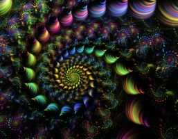 Rainbow spiral by gitte