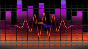 Feel the Beat v2 - Desktop by JoeBob1099