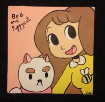 Bee and Puppycat by C-Puff