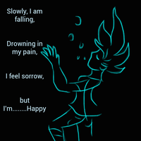 Drowning in my Pain by Qulli2