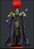 protoss dark templer my design by MuratCALIS