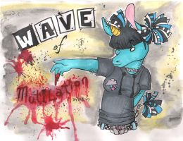 Wave of Mutilation by Avalanche-Design
