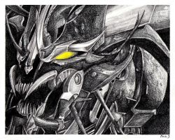 Commission: Beast Mode Predaking by PDJ004