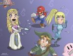 Smash Bros: Shooting Princess by Takilmar
