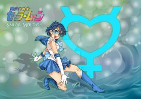 Bishoujo Senshi Sailor Mercury by MiriArt