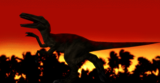 MMD Newcomer Allosaurus + DL by Valforwing