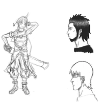 Sketches by Aurikan