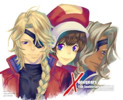 Xenogears 15th Annyversary 2 by Celsa