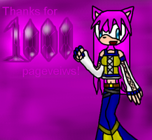 THANKS FOR 1000 PAGEVEIWS by sweetietweety111
