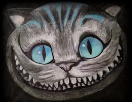 Cheshire Cat by onlyjess