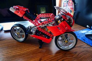 Lego 8420 Street Bike by FordGT