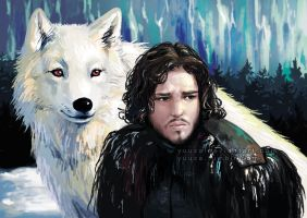 Jon Snow by Yuuza