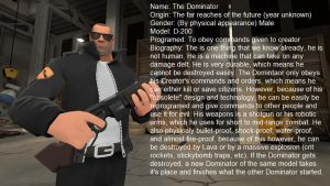 The Dominator: Updated Profile by Cowboygineer