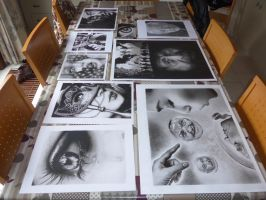 3 Years of producing Graphite Drawings by HyperionDreams