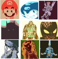 DevintheCool Comics and Video Game Pop Art by DevintheCool