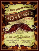Movember by poserfan